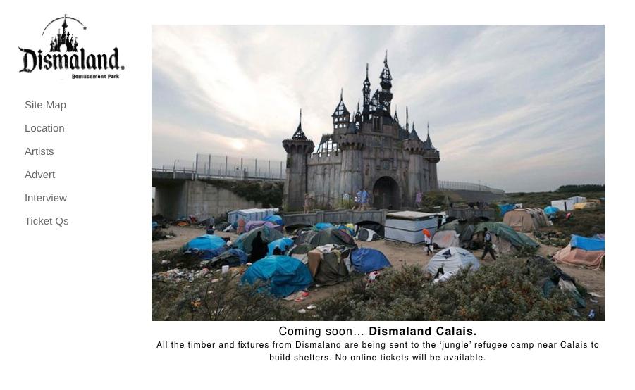 Dismaland Calais