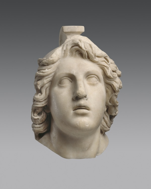 Head of Achilles Marble, Roman copy of a Hellenistic original. Antikenmuseum Basel und Sammlung Ludwig, inv. no. BS 298 © Antikenmuseum Basel und Sammlung Ludwig