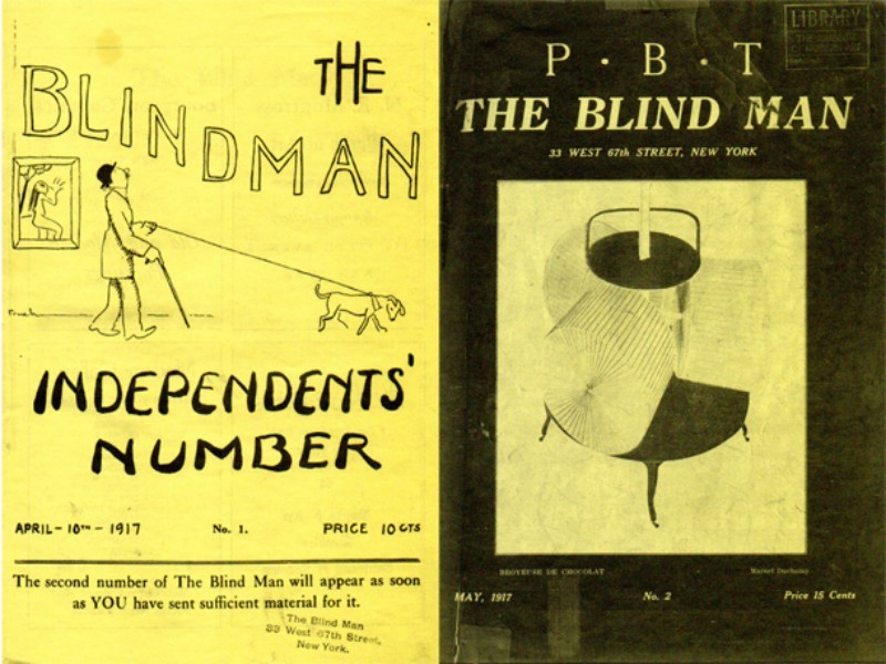Kendell Geers, Following the Blind Man / Marcel Duchamp and the Voodoun Connection