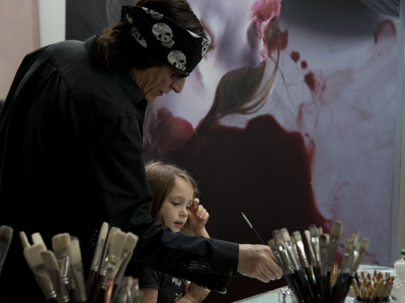 Gottfried Helnwein, Interview