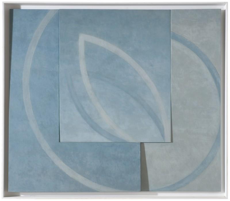 Placebo  2008       Oil & Tempera on 3 Panels       125 X 140 cm.